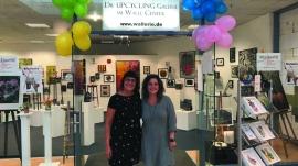 Upcyling Galerie Wallerie-Team- Daniela Görner-Delia Nordhaus